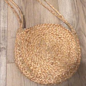 Mango Straw Bag